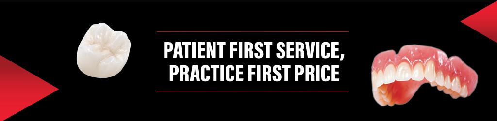 Trident Dental Lab Patient First Service